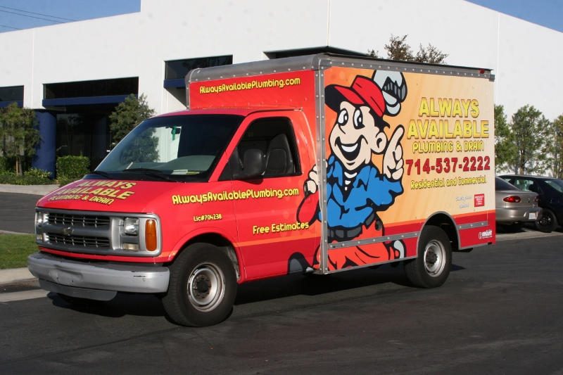 Truck wraps in the greater Atlanta area