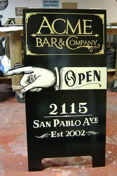 Outdoor Business Sign Ideas