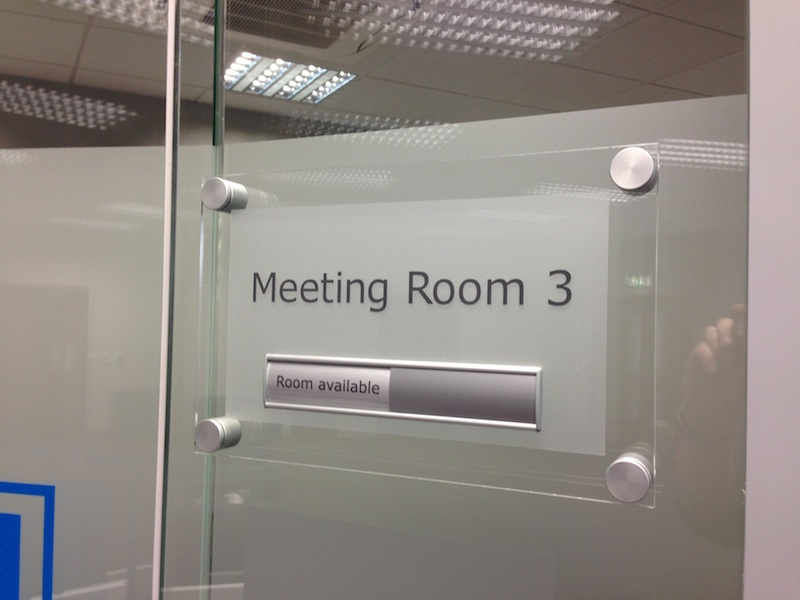 Meeting Room Signage Graphics