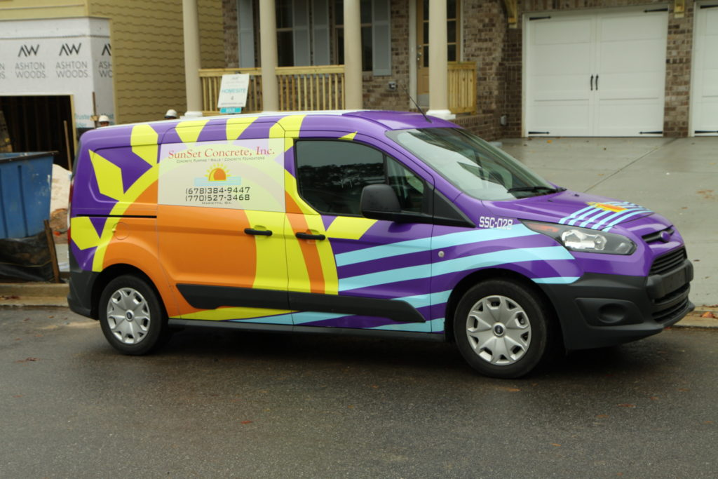 Commercial Fleet Vehicle Graphics for the Greater Atlanta Area