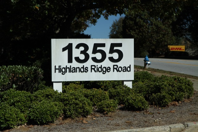 Need Business Address Signs In Smyrna Georgia